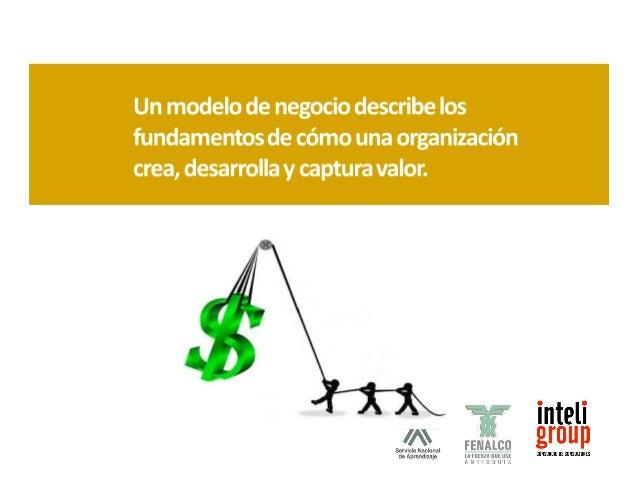 un modelo de negocio describe el valor que una  organización ofrece a sus diferentes clientes; describe las  capacidades y...