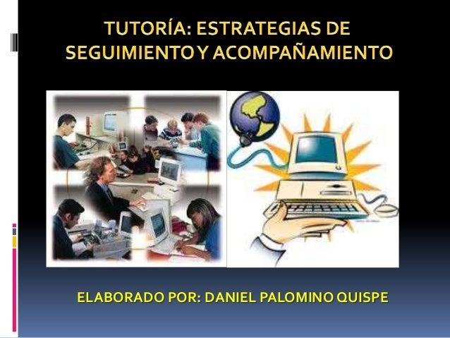 ELABORADO POR: DANIEL PALOMINO QUISPE