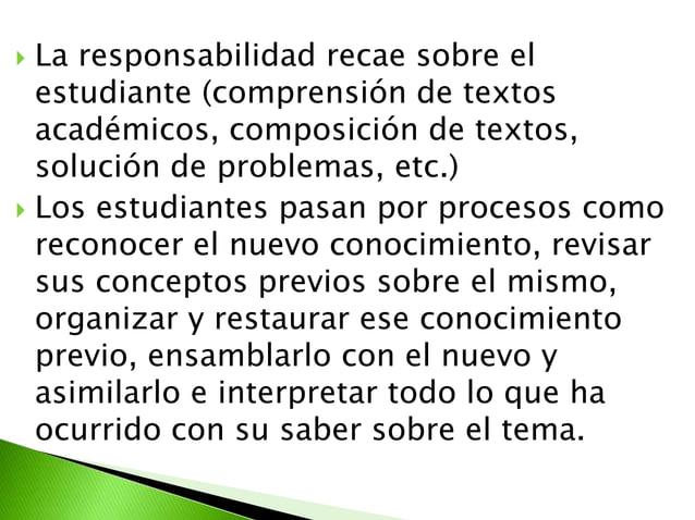  Son todas aquellas ayudas planteadaspor el docente que se proporcionan alestudiante para facilitar unprocesamiento más p...