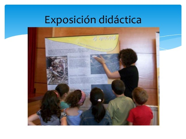 Exposición didáctica