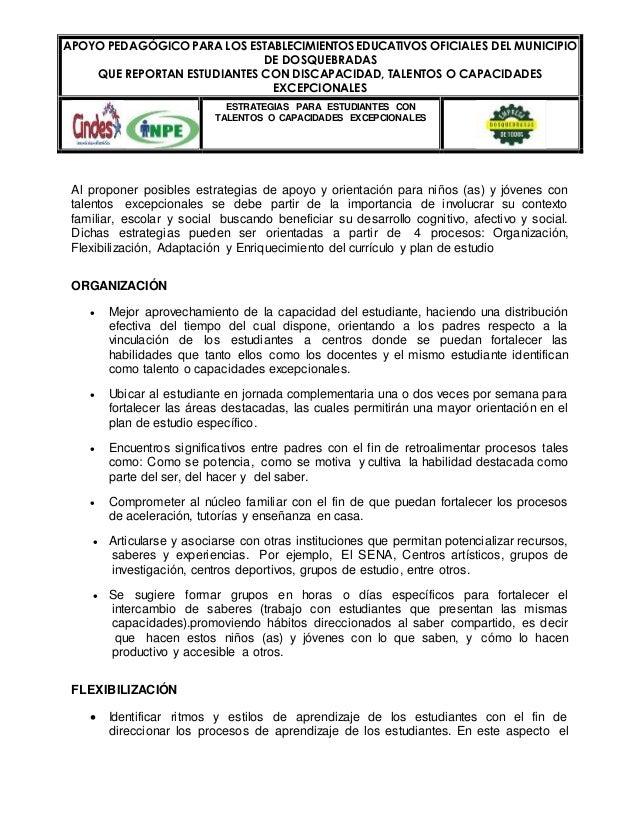A POYO PEDAGÓGICO PARA LOS ESTABLECIMIENTOS EDUCATIVOS OFICIALES DEL MUNICIPIO  DE DOSQUEBRADAS  QUE REPORTAN ESTUDIANTES ...