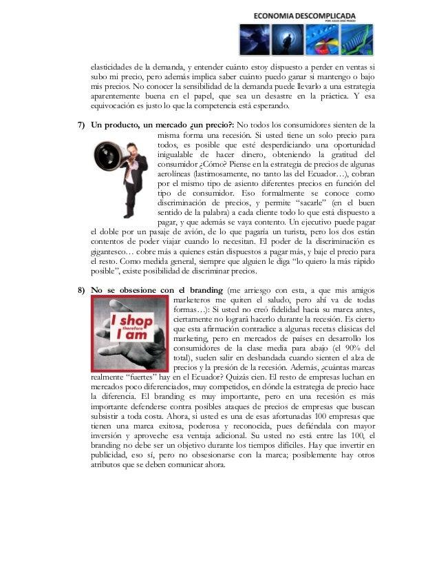 Estrategias empresariales para enfrentar la crisis en ecuador Slide 3