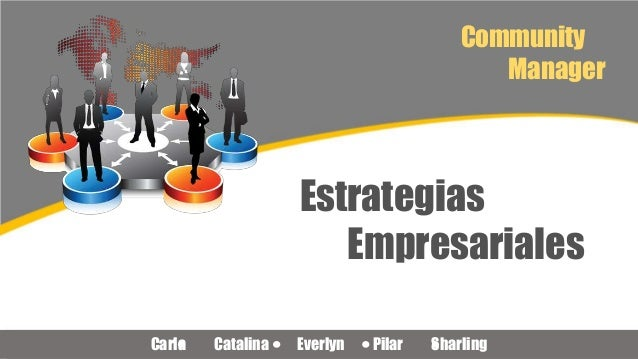 Community Manager Estrategias Empresariales Carla Catalina Everlyn Pilar Sharling
