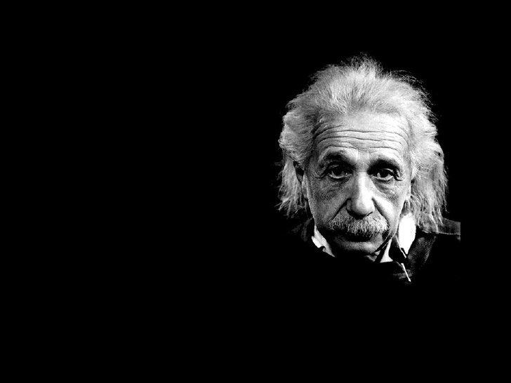 EN ese momento, el genio Albert Einstein, que pasaba por allí, comentó:
