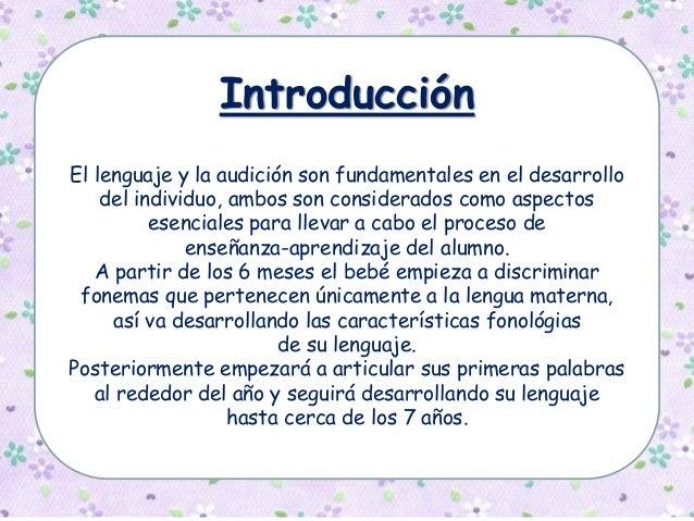 Estrategias para el desarrollo del lenguaje Slide 3