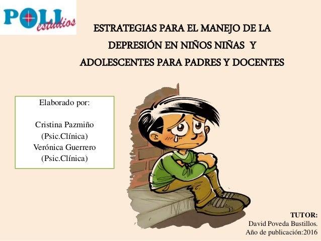 Estrategias para el manejo de la depresi n en ni os ni as - Consejos para superar la depresion ...