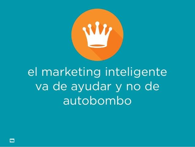 Formación Libre @ortizan  el marketing inteligente va de ayudar y no de autobombo