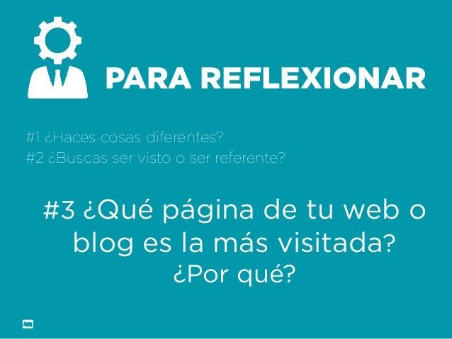 Formación Libre @ortizan  PARA REFLEXIONAR  #1 ¿Haces cosas diferentes?  #2 ¿Buscas ser visto o ser referente?  #3 ¿Qué pá...