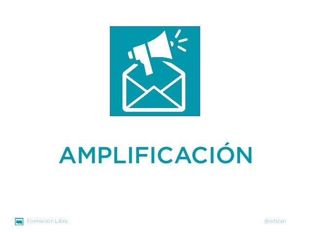 Formación Libre @ortizan  AMPLIFICACIÓN
