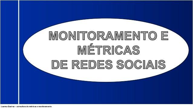 Luanna Queiroz – consultora de métricas e monitoramento
