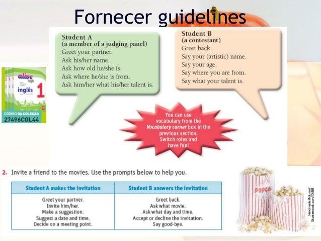 Fornecer guidelines