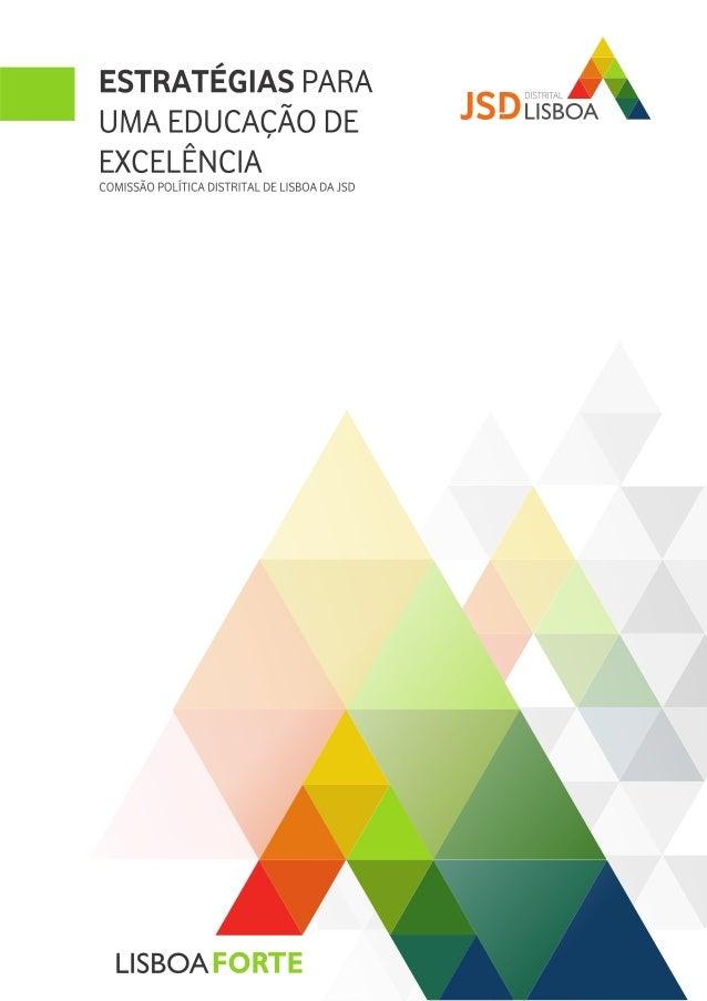 Estratégias para uma Educação de Excelência