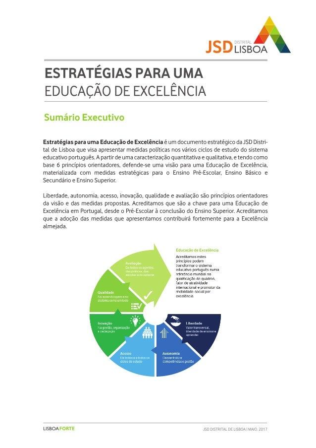 Estratégias para uma Educação de Excelência   Slide 3