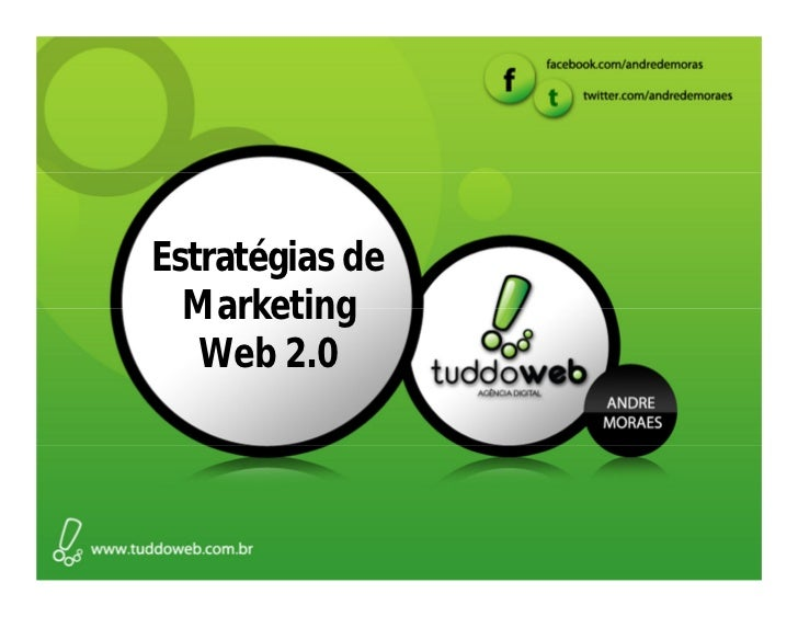 Estratégias de  Marketing   Web 2.0