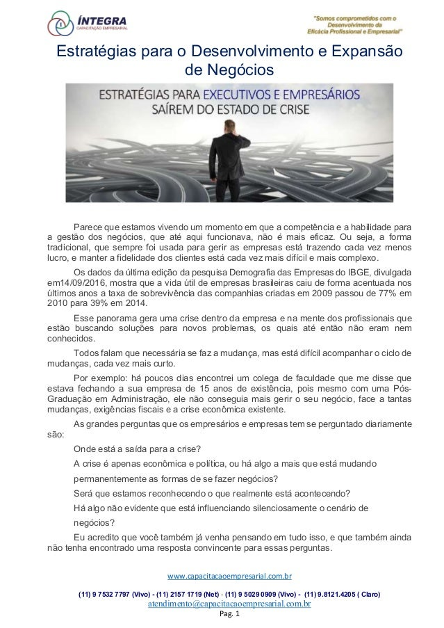 www.capacitacaoempresarial.com.br (11) 9 7532 7797 (Vivo) - (11) 2157 1719 (Net) - (11) 9 5029 0909 (Vivo) - (11) 9.8121.4...