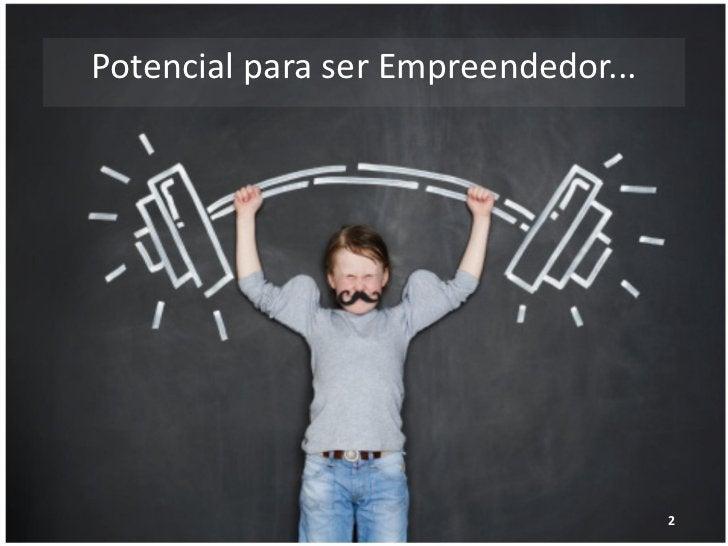 Potencial para ser Empreendedor...             www.agenciadecocriacao.com.br   2