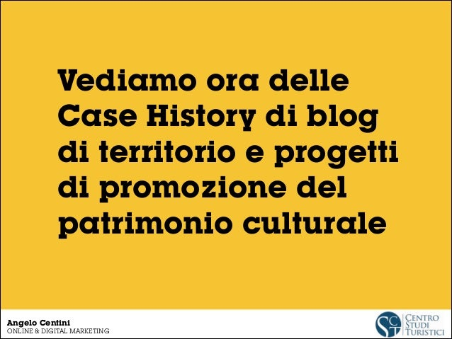 Case history di promozione online del patrimonio culturale (più insight da #mwf2014!) Slide 3