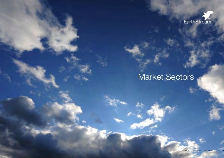 Market Sectors           Energy   Resources   Environment   19