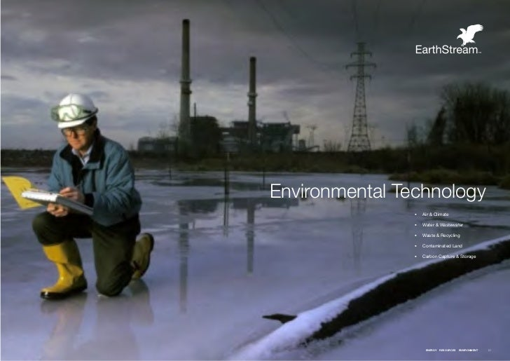 Environmental Technology                ƒƒ Air & Climate                ƒƒ Water & Wastewater                ƒƒ Waste & Re...