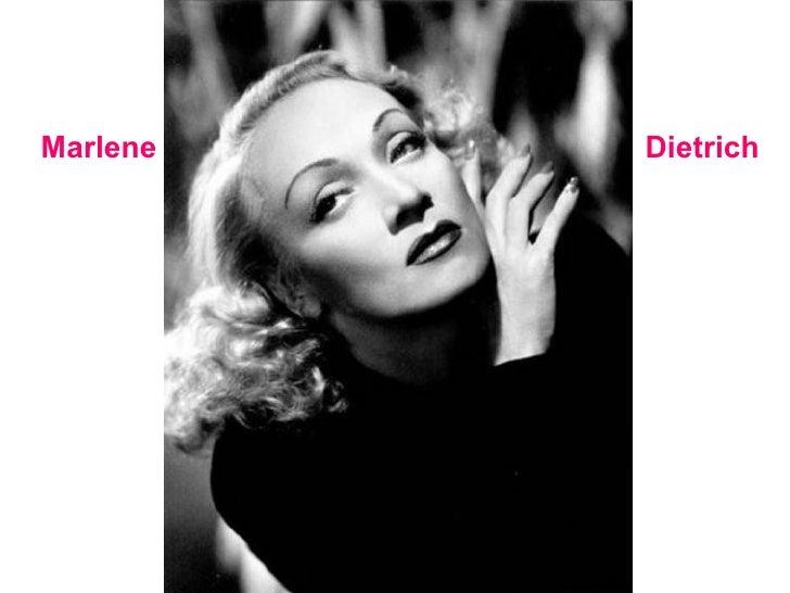 Dietrich Marlene