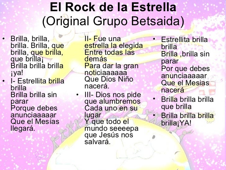 Estrella lyrics