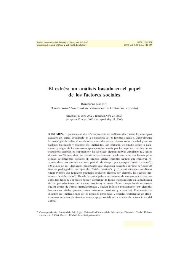 SALAS-AUVERT and FELGOISE. Information Processing Systems 141RIPCS/IJCHP, Vol. 3, Nº 1Revista Internacional de Psicología ...