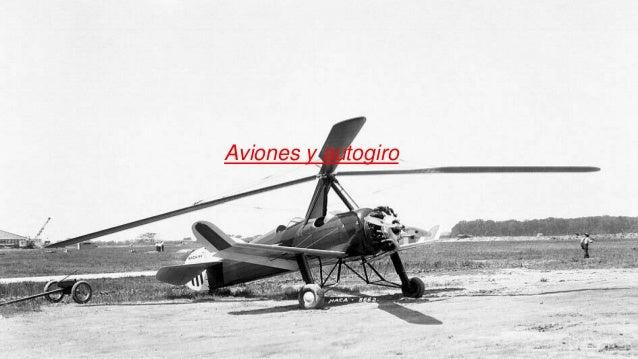 Aviones y autogiro