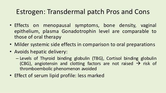 Estrogen And Progestins