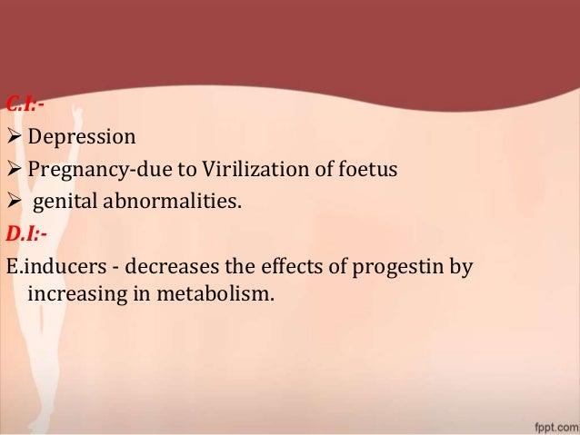 virilization due to steroids