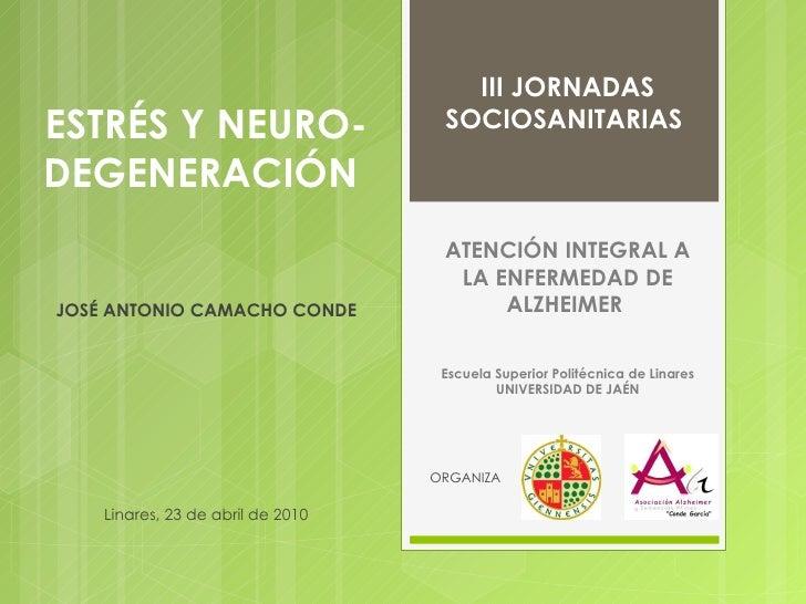 Estrés y neurodegeneración