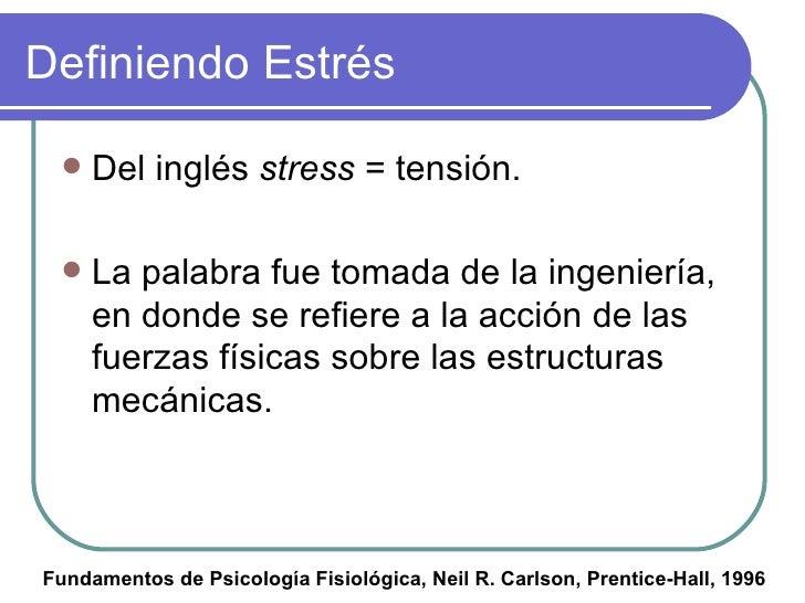 Estrés Slide 2