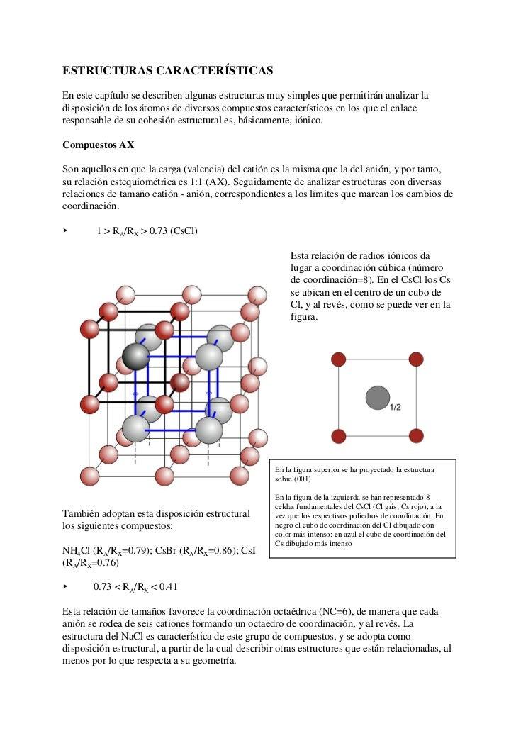 ESTRUCTURAS CARACTERÍSTICAS  En este capítulo se describen algunas estructuras muy simples que permitirán analizar la disp...