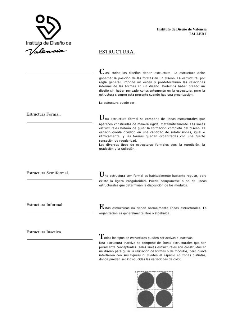 Instituto de Diseño de Valencia                                                                                   TALLER I...
