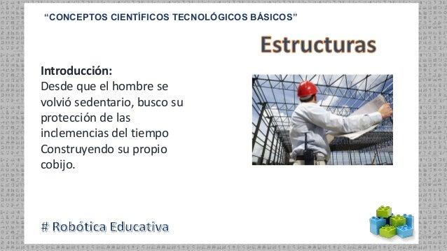 """""""CONCEPTOS CIENTÍFICOS TECNOLÓGICOS BÁSICOS"""" Introducción: Desde que el hombre se volvió sedentario, busco su protección d..."""
