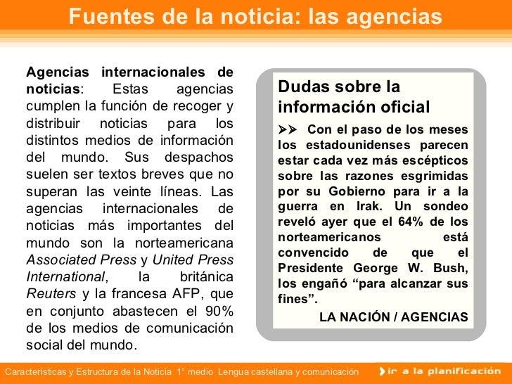 Estructura De La Nota Periodística