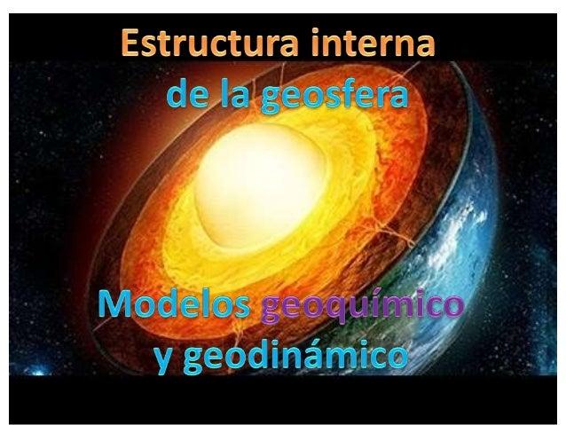 Estructura Interna Geosfera