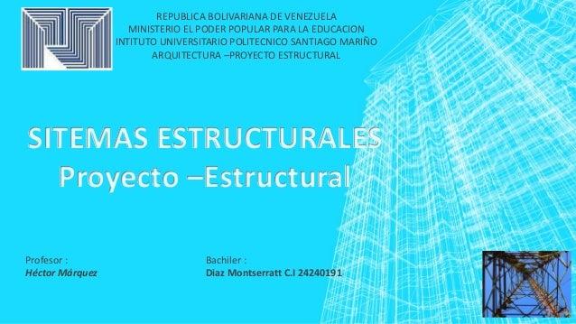 REPUBLICA BOLIVARIANA DE VENEZUELA MINISTERIO EL PODER POPULAR PARA LA EDUCACION INTITUTO UNIVERSITARIO POLITECNICO SANTIA...