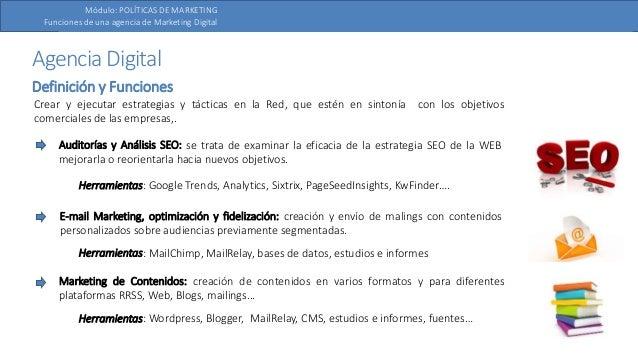 Funciones Y Estructura De Una Agencia De Marketing Digital