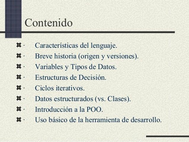Estructura Basica De Un Programa