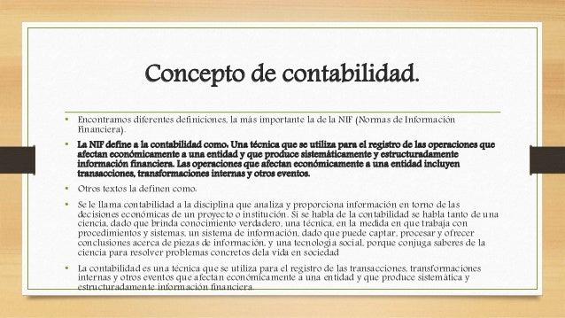 Estructura De Las Nif Concepto Definicion Y Tipos De