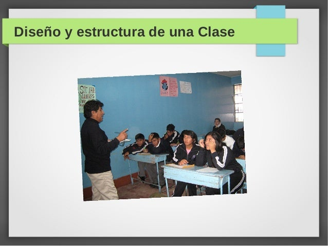 Diseño y estructura de una Clase
