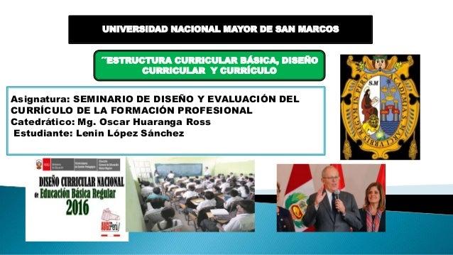Estructura curricular b sica dise o curricular y curr culo for Diseno curricular nacional 2016 pdf