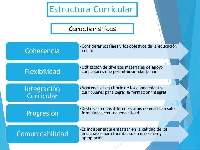 Estructura curricular para la educacion inicial for Diseno curricular educacion inicial