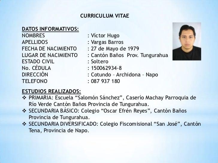 el currculum vitae se debe escribir en papel din a4