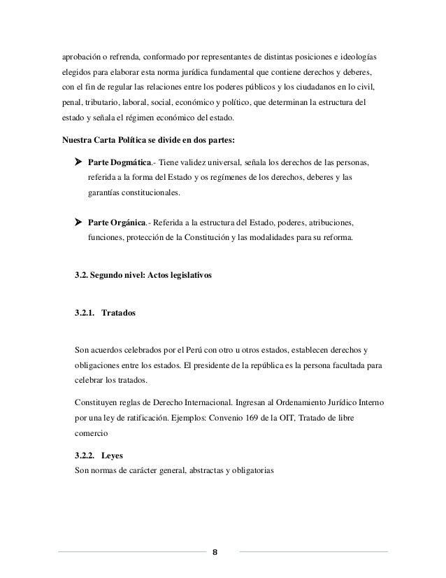 Estructura De La Pirámide De Hans Kelsen Aplicada En El Perú