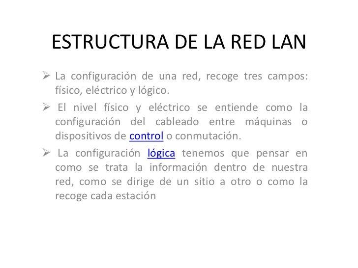 Estructura De La Red Lan Nacho