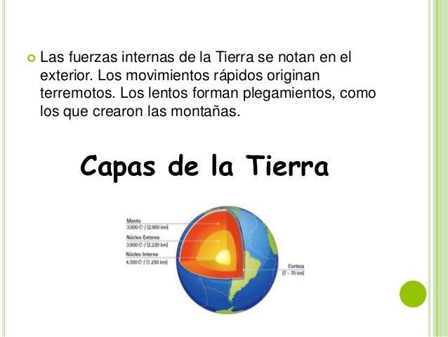 ESTRUCTURA DE LA TIERRA Slide 3