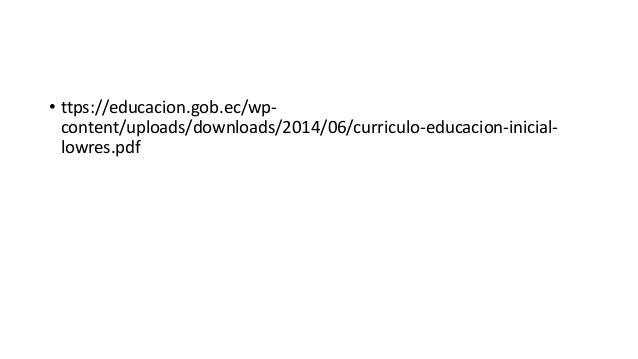 Estructura del dieño curricular
