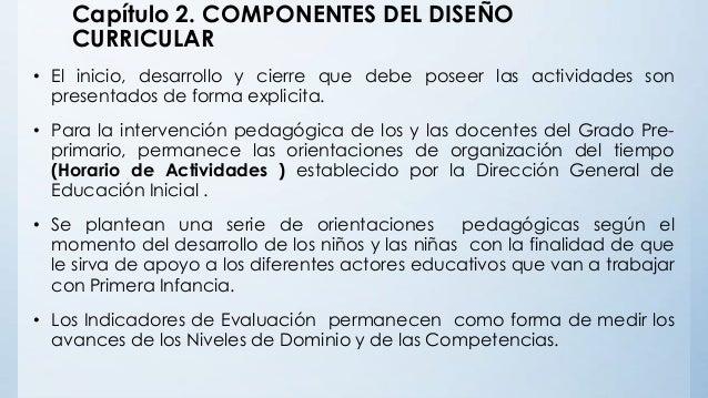 Estructura del dise o curricular del nivel inicial for Diseno curricular para el nivel inicial