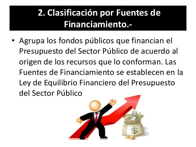 Fondos publicos estructura